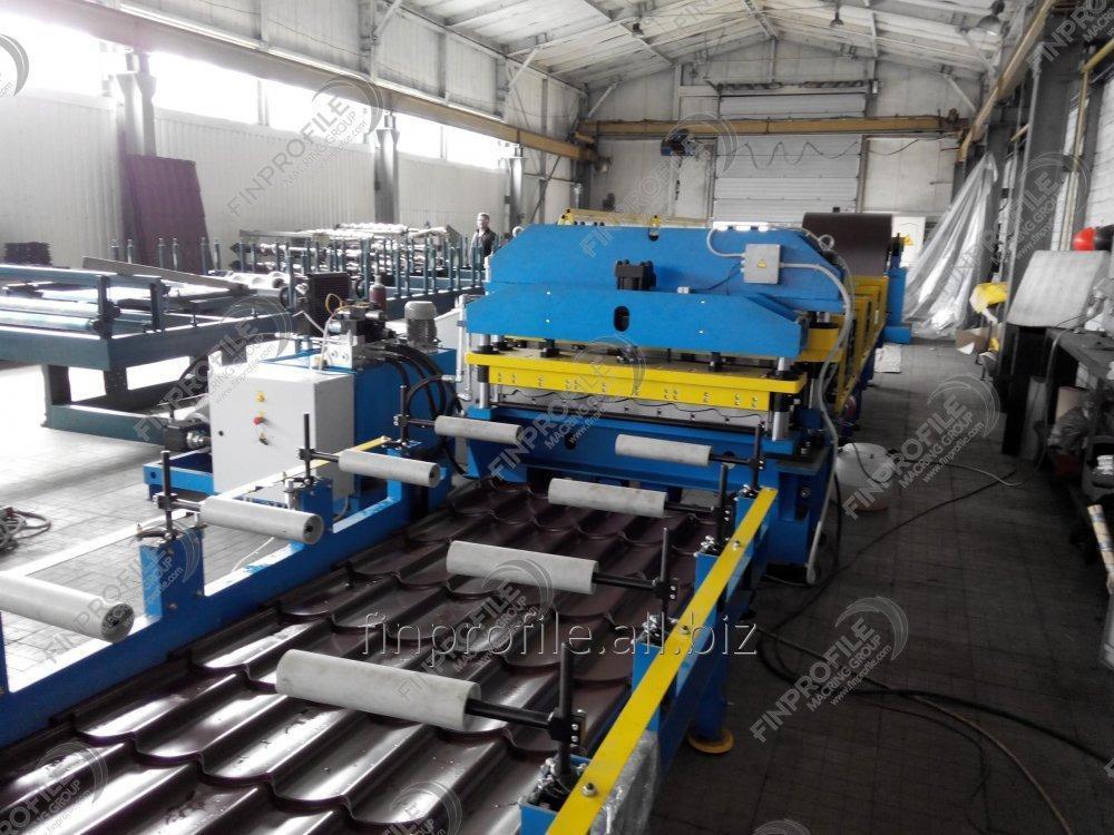 Линия для производства металлочерепицы Монтеррей