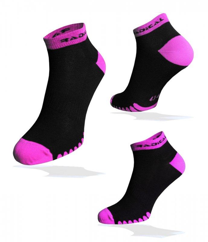Носки спортивные Radical Quick черные