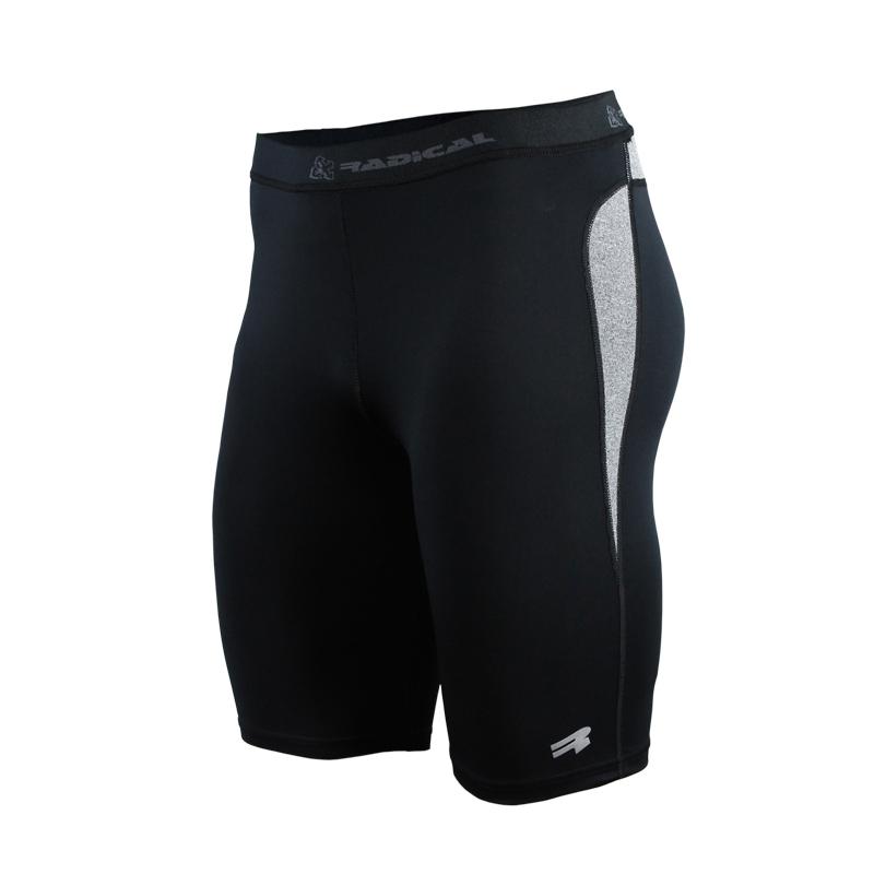 Спортивные мужские шорты Radical Rapid черно-серые