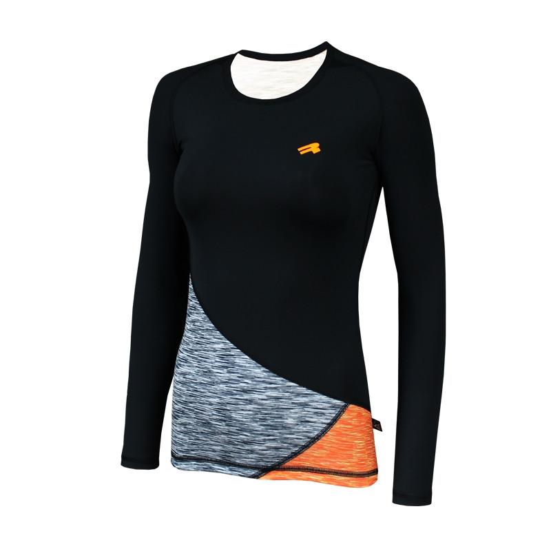 Спортивная женская кофта Radical Reaction LS оранжевая
