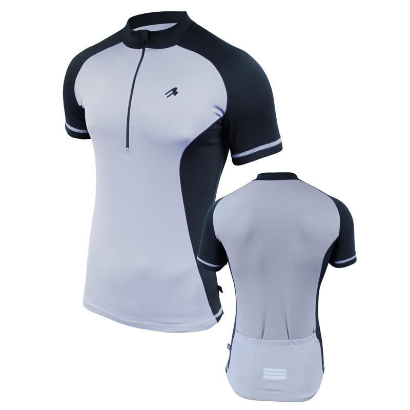 Велофутболка мужская с карманами Radical Racer SX серая