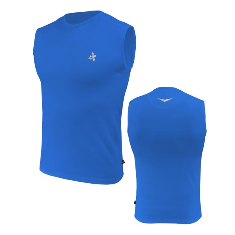 Безрукавка мужская спортивная Radical Tanker голубая