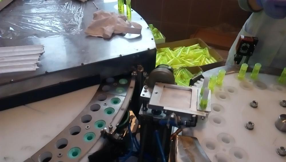 Купить Автомат фасовочно-формовочный ATI-1000-LB для производства губной помады.