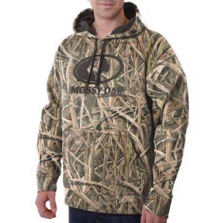 Купить Толстовка для охоты Mossy Oak Mens Camo Performance Pullover Fleece Hoodie
