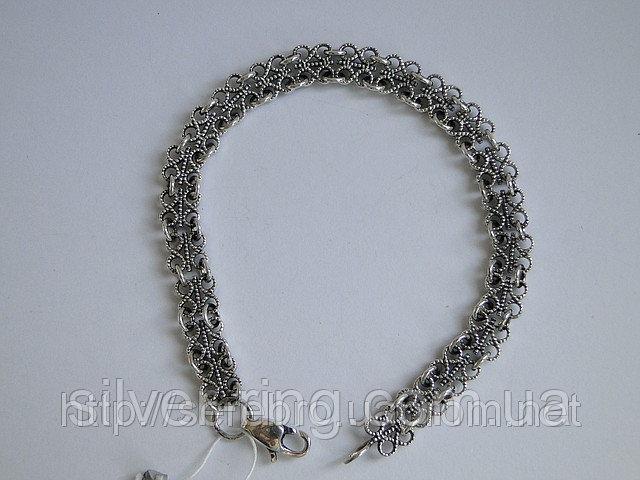 Купить Ажурный, филигранный браслет 0062Б