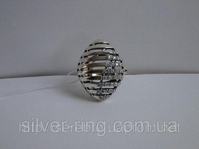 Современный женский перстень 0063К
