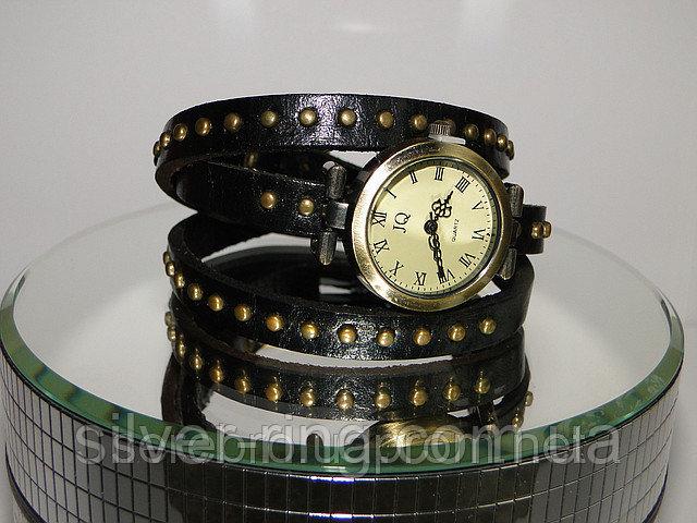 """Молодежные часы """"Черные"""" 0002Ч"""