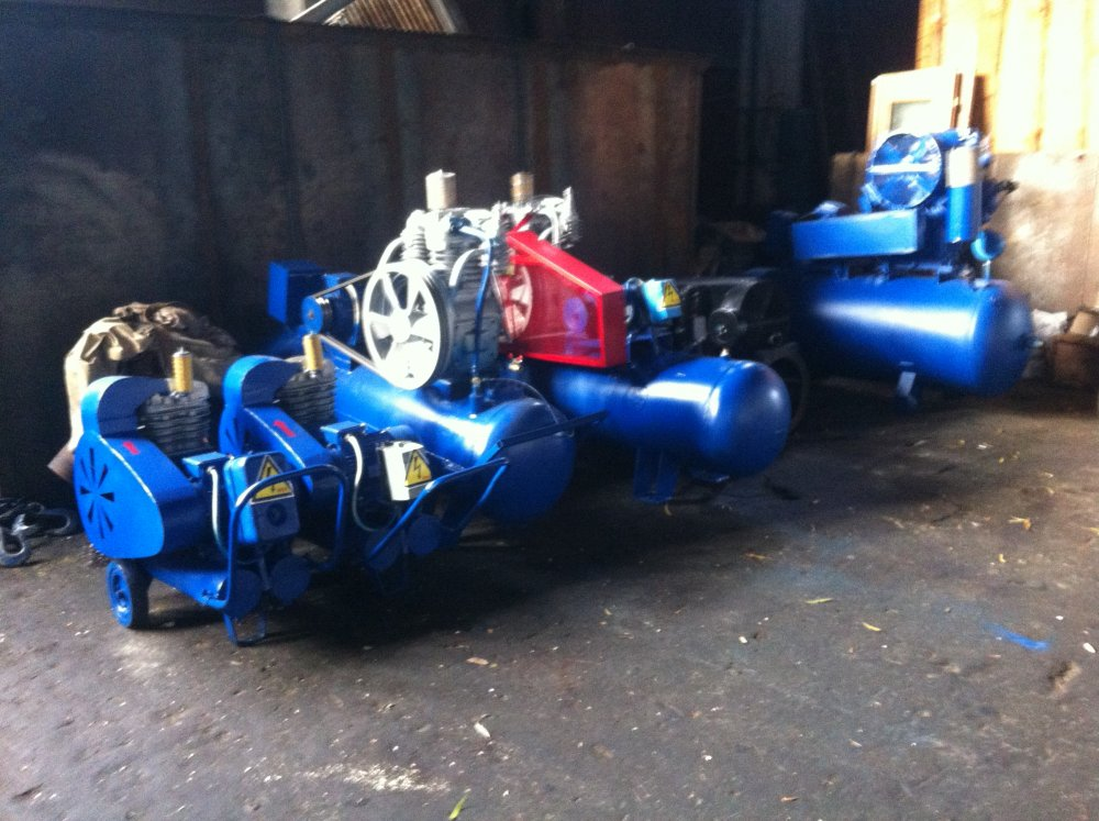 Buy Compressor air second-hand and new