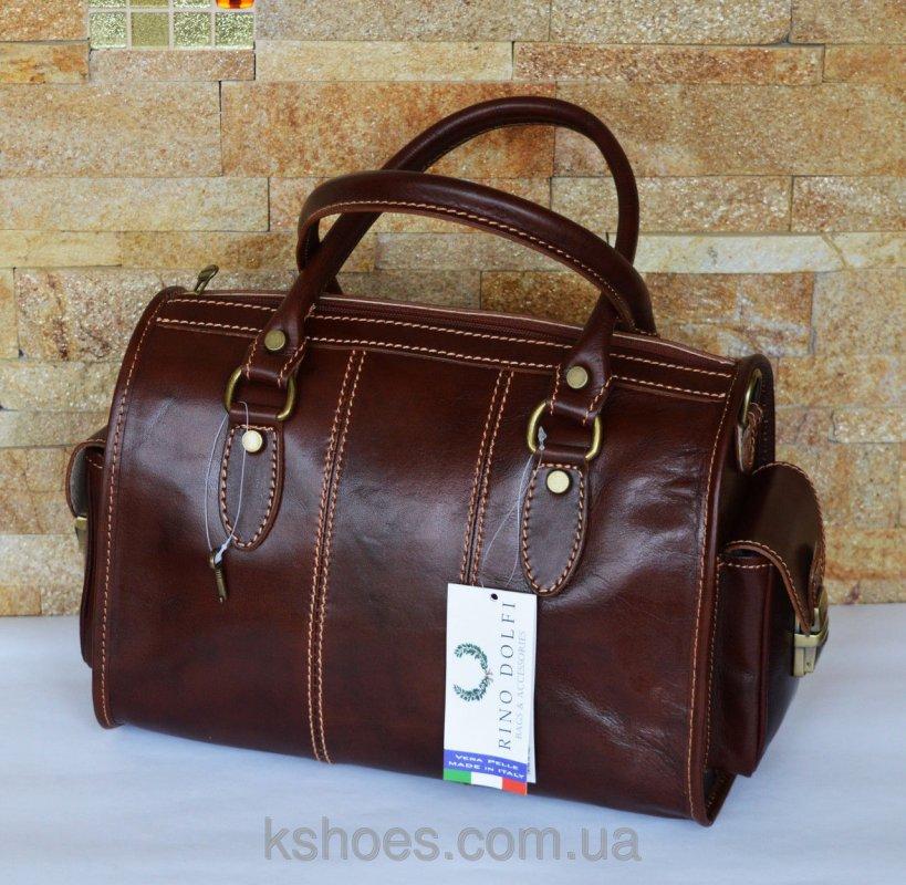 Купить Коричневая итальянская сумка Rino Dolfi 02