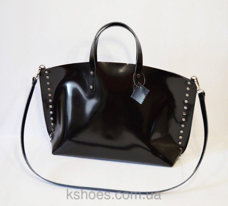 Купить Кожаная женская сумка Kluchini 199a