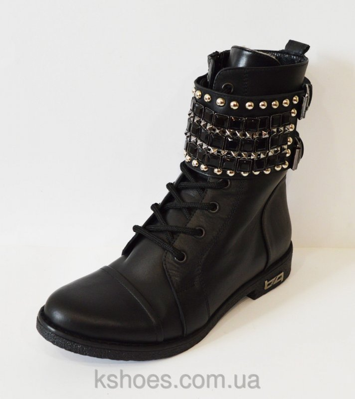 Купить Кожаные зимние ботинки Aquamarine 933-12