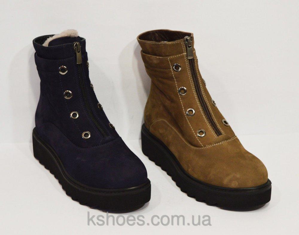 Купить Зимние коричневые ботинки Destino 129