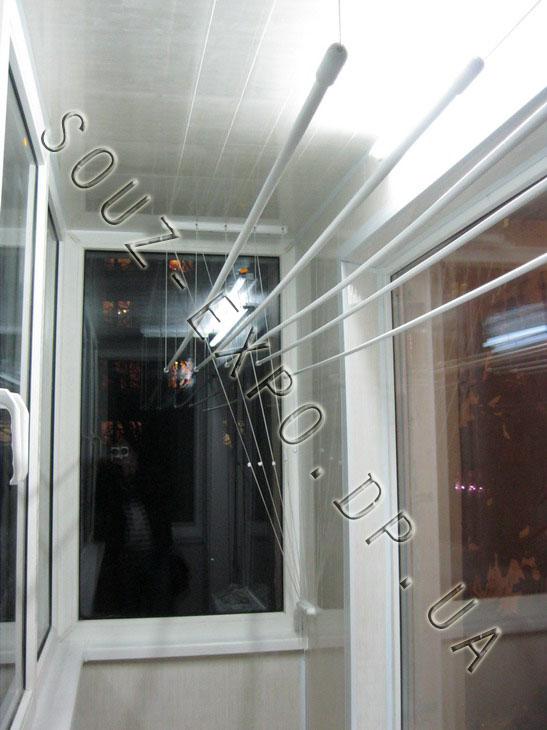 Білизняні мотузки на балкони й лоджії купити в дніпро.