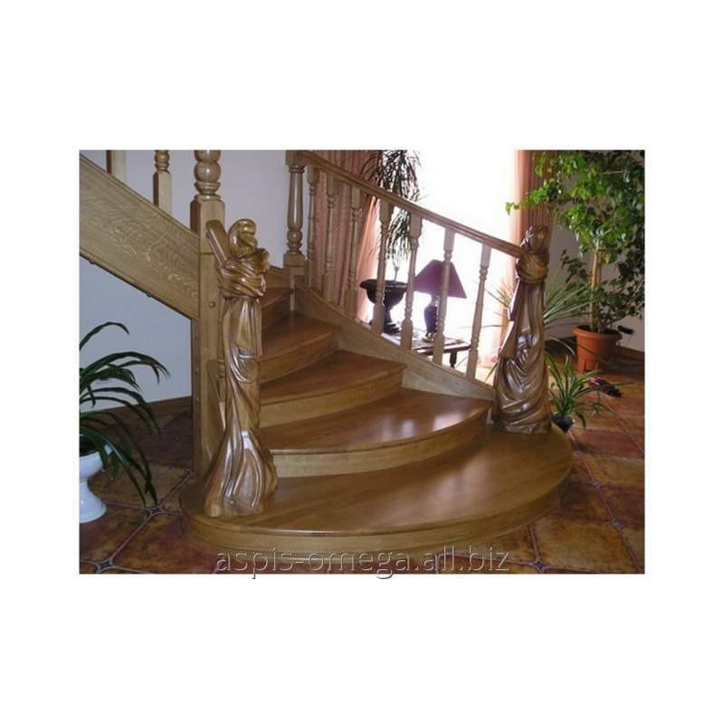 Купить Лестница из натурального дерева
