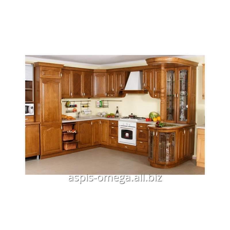 Купить Кухонный гарнитур из натурального дерева