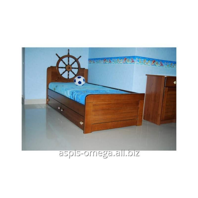 Купить Детская кровать из натурального дерева