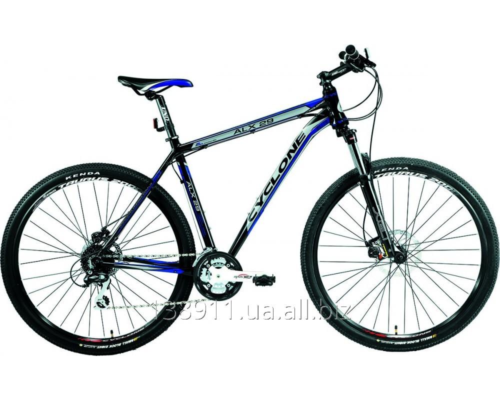 Купить Горный велосипед Cyclone Alx 29 Черно-синий 260443 1шт
