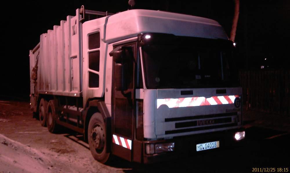 Buy Iveko's garbage truck, car garbage-disposal