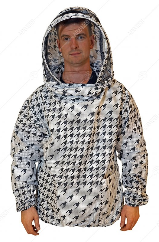 Купить Куртка пчеловода ситцевая «Евро» р.46-48 / р.50-52 / р.54-56 / р.58-60 / р.62-66