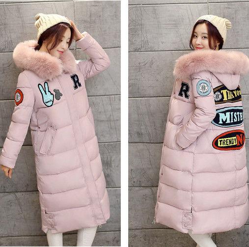 Купить Женский зимний пуховик. Модель 862 розовый