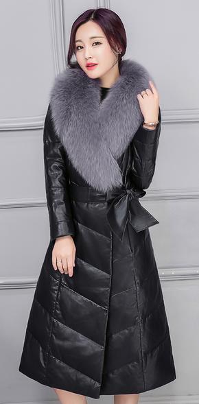 Купить Женский стильный зимний пуховик Модель 1003