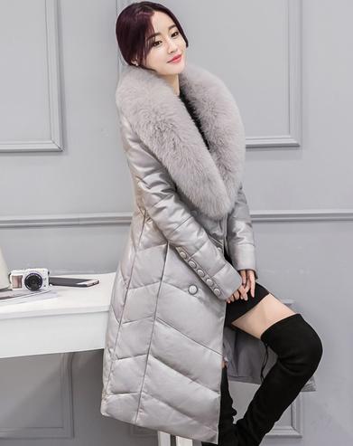 Купить Женский стильный зимний пуховик. Модель 1007