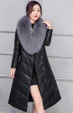 Купить Женский стильный зимний пуховик. Модель 994