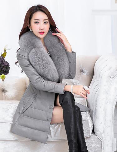 Купить Женский стильный зимний пуховик. Модель 993