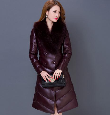 Купить Женский модный зимний пуховик. Модель 1020
