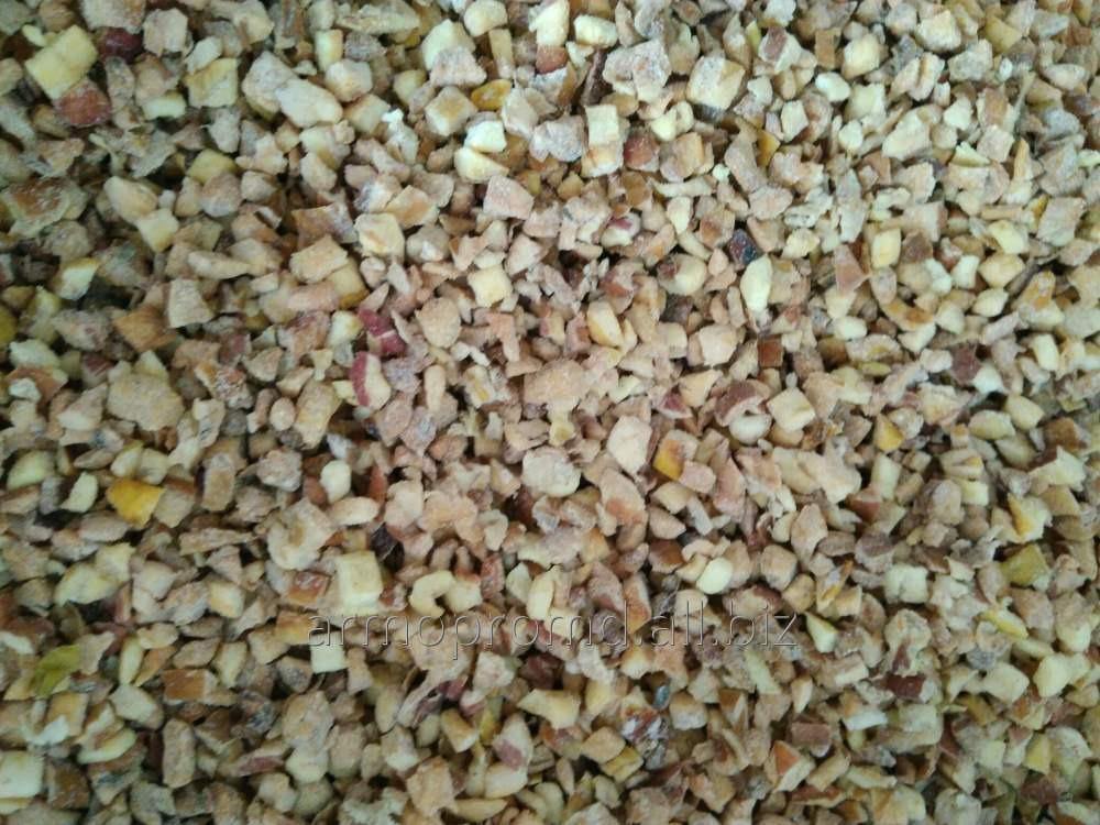 Купить Яблоко сушеное резанное (без семенной коробки) от 2 мм до 7 мм. яблочные чипсы