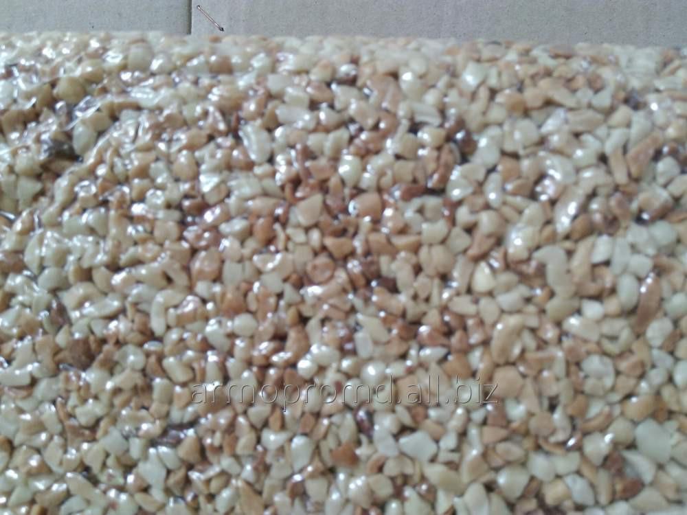 Купить Арахис дробленый жареный разного калибра (фракции 2-4,3-5,5-7 мм.) в вакуумной упаковке.