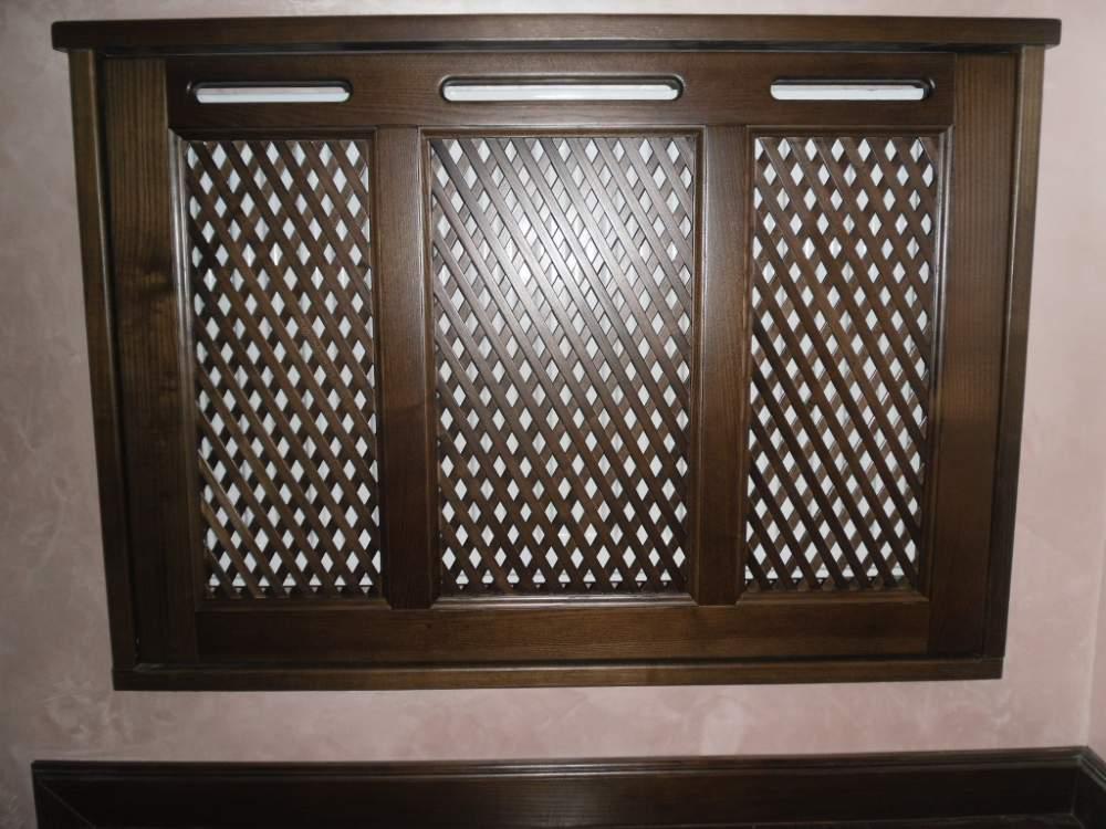 Buy Lattice decorative radiator of the massif