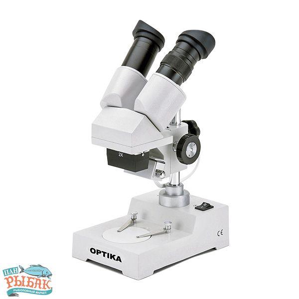 Купить Микроскоп Optika S-20-L 20x-40x Bino Stereo