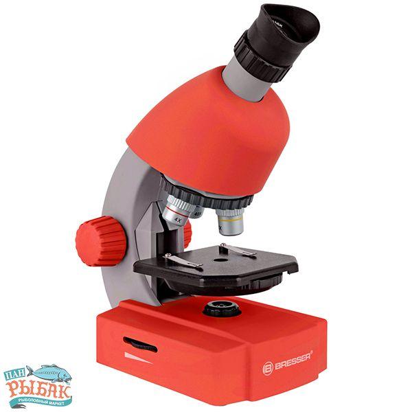 Купить Микроскоп Bresser Junior 40x-640x Red