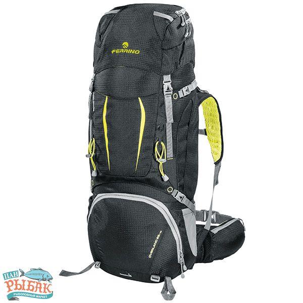 Купить Рюкзак Ferrino Overland 65+10 Black/Yellow