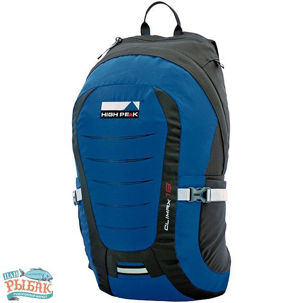 Купить Рюкзак High Peak Climax 18 (Blue/Dark gray)