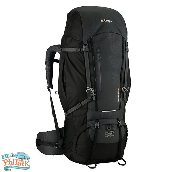 Купить Рюкзак Vango Sherpa 70+10 Shadow Black
