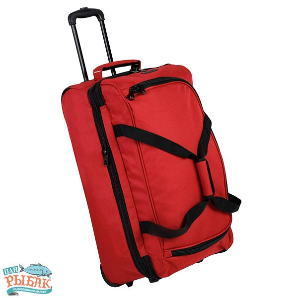 Сумка дорожная Members Expandable Wheelbag Medium 71/86 Red