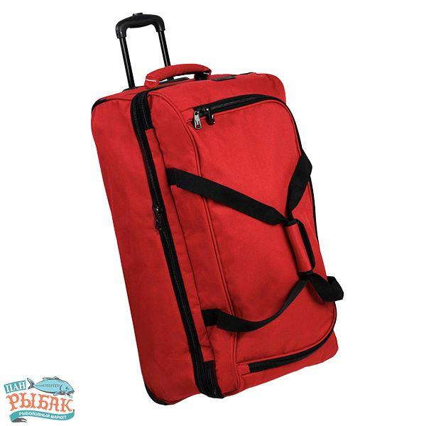 Купить Сумка дорожная Members Expandable Wheelbag Large 88/106 Red