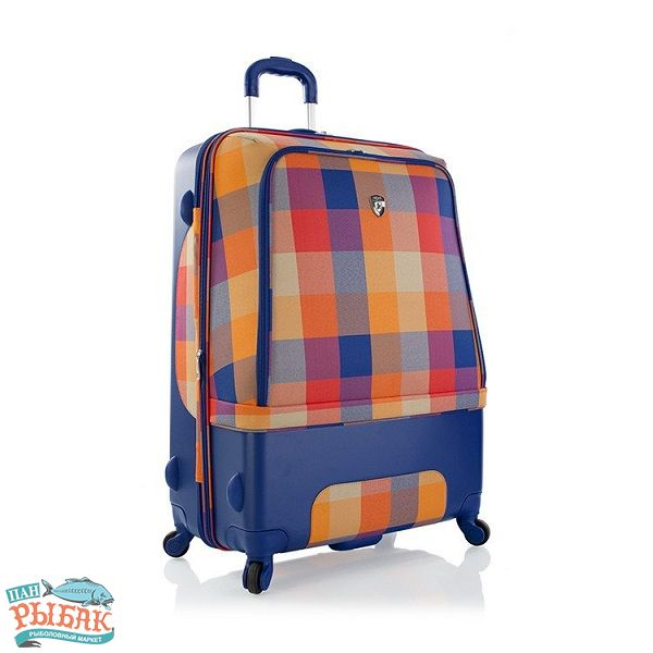 Купить Чемодан Heys Chroma Hybrid (L) Orange/Blue