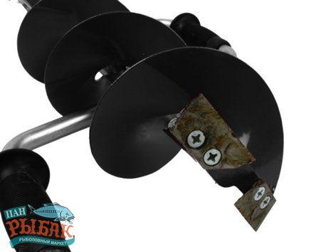 Купить Ледобур iDabur 100мм кованые ножи