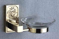 Купить Мыльница подвесная gold plating