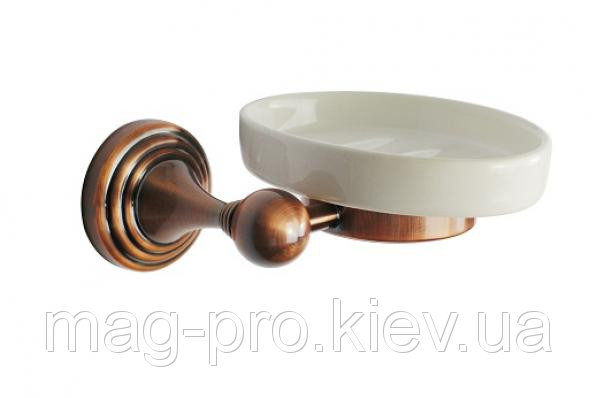 Купить Мыльница подвесная бронзовая код 8359