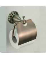 Купить Держатель для туалетной бумаги бронза код 8951