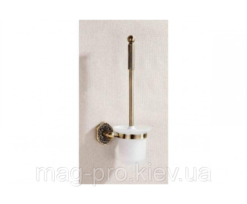 Купить Ёршик настенный antik brass
