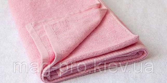 Купить Полотенце розовое Турция 70х140 плотность 420
