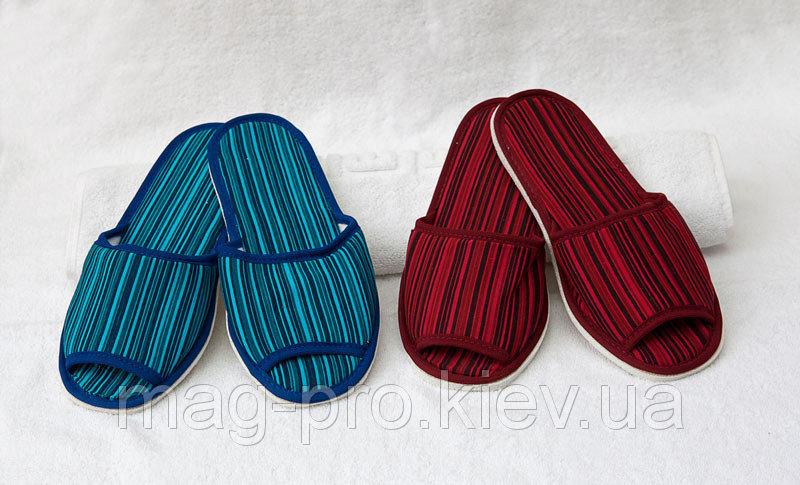 Купить Тапки махровые Твист цветные 4мм код 22016