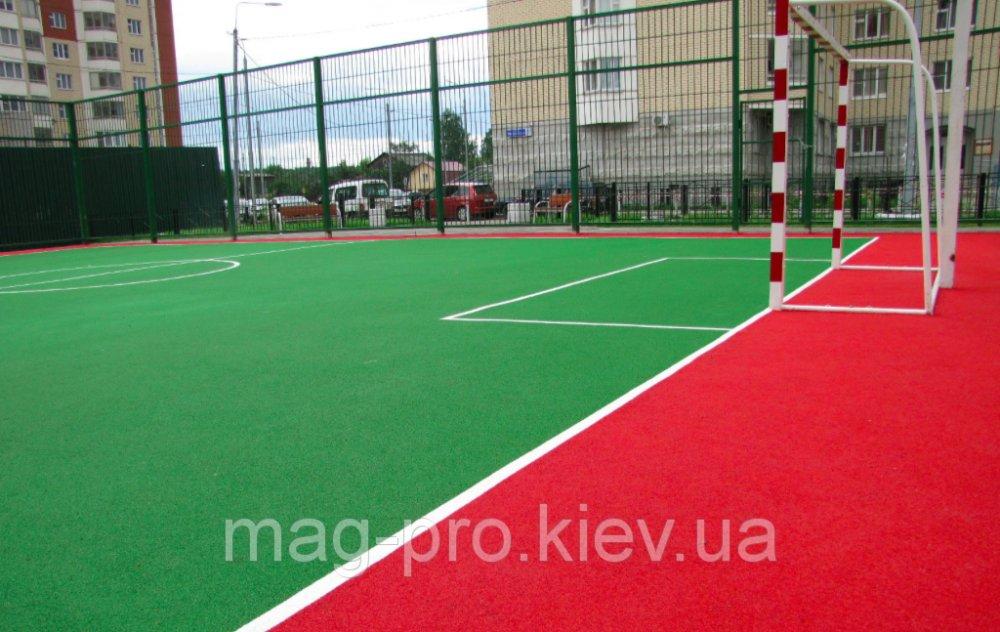 Купить Бесшовные резиновые покрытия для спортивных площадок