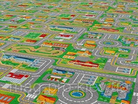 Купить Детский ковролин Город