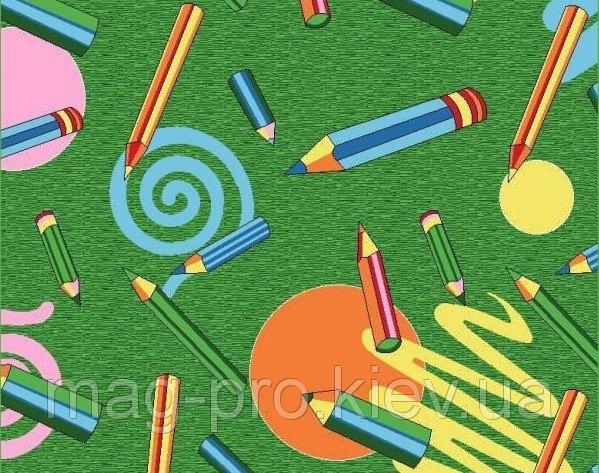 Купить Детский ковролин Карандаши